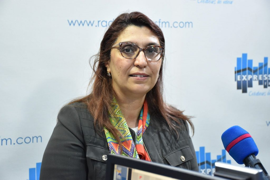 وزيرة التعليم العالي